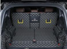 奔驰GLB200全包围后备箱垫glb180五座七座后尾门箱垫子环保防水垫