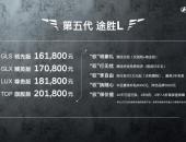 售价16.18-20.18万元 北京现代第五代途胜L强势入局